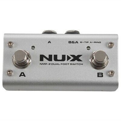 Nux Nmp-2 Dual Footswitch Double Stepping Foot Switch To Switch Loop Core D E8O7 • 30.02£