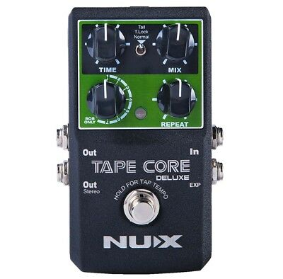 Nux Tape Core Deluxe Guitar Effects Processor Delay Pedal With Looper Function • 73.41£