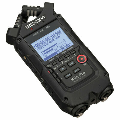 Zoom H4n Pro Black Mobile Phone Recorder • 247.86£