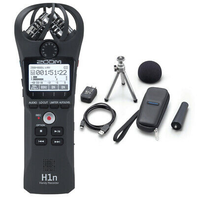 Zoom H1n Handy Mobile Audio Recorder With APH-1n Accessory Pack RRP $299 • 132.54£
