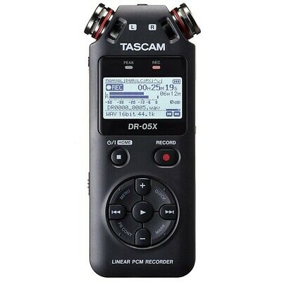 TASCAM DR-05X Stereo Handheld Recorder 2-channel Handheld Recorder  • 124.90£
