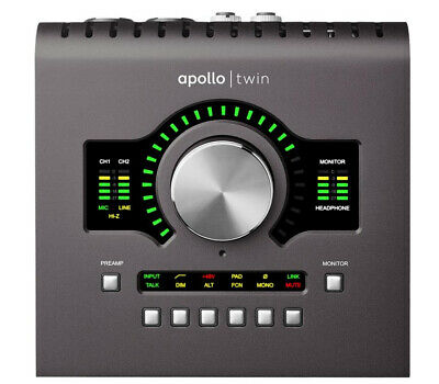 Universal Audio Apollo Twin Mkii Quad Thunderbolt Audio Interface #Sehrgut • 940.08£