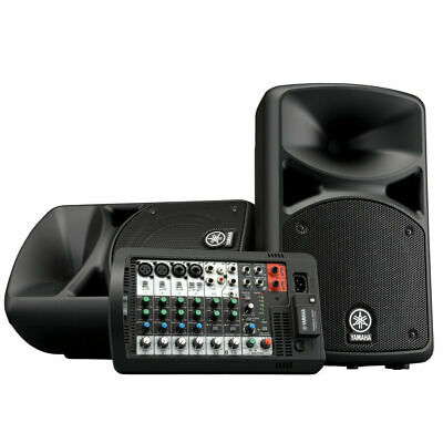 Yamaha STAGEPAS 400BT 400W 8-Channel Portable PA System FACTORY C-STOCK WARRANTY • 440.48£