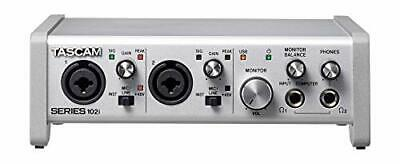 Tascam SERIES 102i 10 IN/2 OUT USB Audio/MIDI Interface- New!- Prosounduniverse. • 311.51£