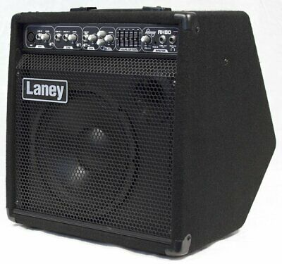 Laney Audiohub 80 Watt Guitar Cabinet Amplifier With Delay/Equalizer - AH80 • 306.72£