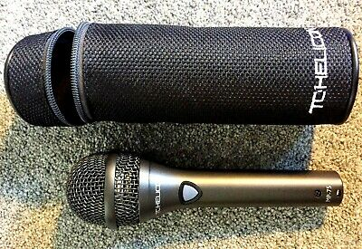 TC Helicon MP75 , MP 75 Modern Dynamic Vocal Microphone. Mic Control Of Vocalist • 100£
