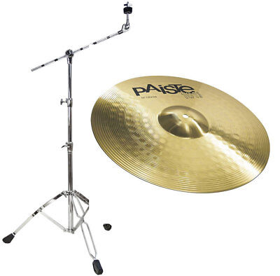 Paiste 101 16 Crash Cymbals + Boom Cymbal Stand • 89.54£