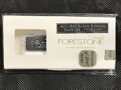 Forestone Black Bamboo Alto Saxophone Synthetic Reeds MH W-Blast Model New Japan • 19.23£