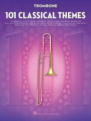 101 Classical Themes For Trombone By Hal Leonard Corp.  • 14.76£