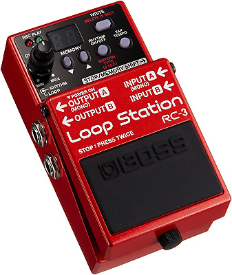 Boss RC-3 Loop Station Loop Pedal • 182.19£