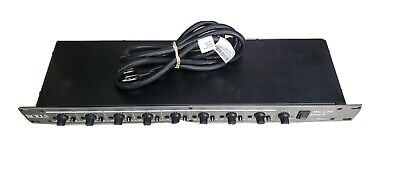 Rolls RM82 8-Channel Rack Mountable Powered Mic/Line Mixer. • 75.48£