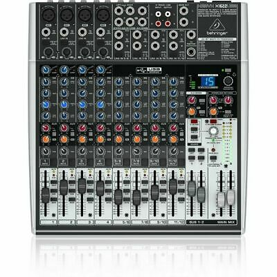 Behringer Xenyx X1622USB 16-Input USB Audio Mixer With Effects • 202.19£
