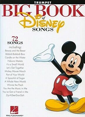 The Big Book Of Disney Songs - Trumpet • 14.59£