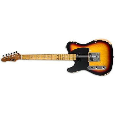 ESP LTD TE-254 LH Distressed 3-Tone Burst D3TB Left-Handed Guitar + Free Gig Bag • 342.91£