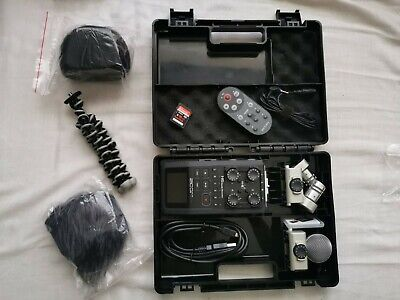 Zoom H6 Portable Field  Recorder Boxed With Xy Ms Mic And Rch-6 Remote • 269£