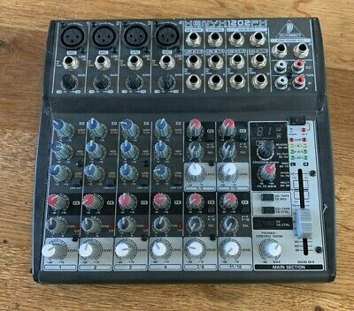Behringer Xenyx1202FX 12 Input Mixer With Mic Preamps And Effects Processor • 60£