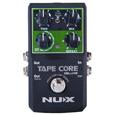 Nux Tape Core Deluxe Guitar Effects Processor Delay Pedal With Looper Function • 74.56£