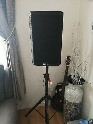 2x Alto TS310 10  4000W Powered Active Speakers +Proel Stands +padded Covers. • 375£