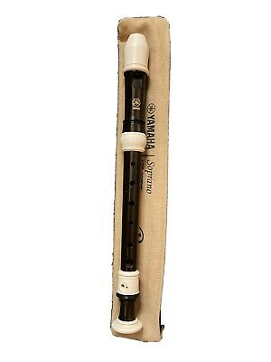 YAMAHA Soprano RECORDER YRS-302B III With OFFICIAL Case.Used • 5£