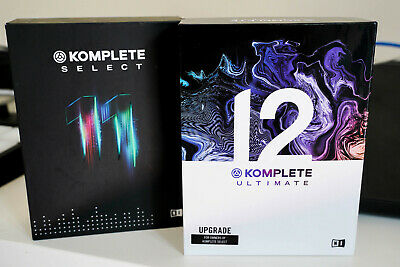 Native Instruments Komplete 12 Ultimate UPG Select + Komplete 11 Select • 499£