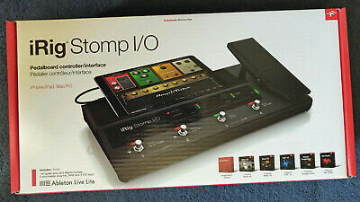 IK Multimedia IRig Stomp I/O, With Loads Of Extra Software, New, Boxed • 229.99£
