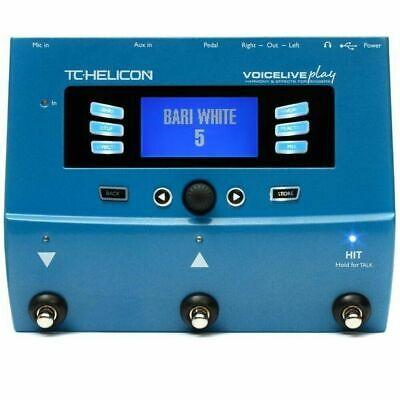 TC-Helicon VoiceLive Play Vocal Harmony And Effects Mic Preamp With Harmony • 296.72£