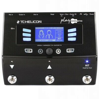 TC Helicon VoiceLive Play Acoustic Guitar / Vocal Effects Processor  • 297.97£