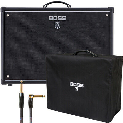 Boss Katana 100/212 100w 2x12 Guitar Combo Amp W/ Cover And Cable • 360.34£