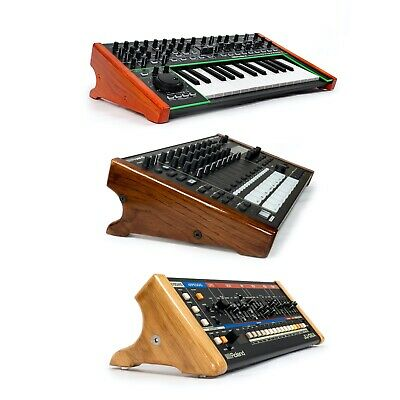 Premium Wood Sides For Synthesizers. Roland MC-707, System-1 • 79£