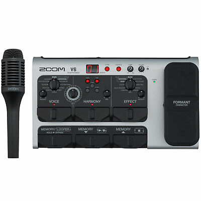 Zoom V6 Effects Unit For Vocals Vocal-Processor • 363.60£
