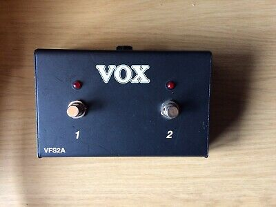 Vox VFS2A Footswitch • 25£