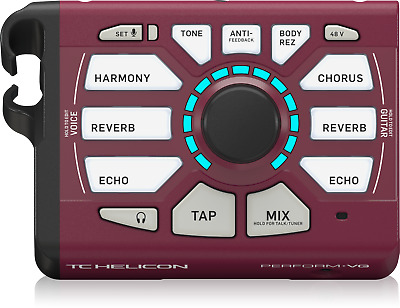 Tc Helicon Perform Vg - Vocal Effect And Harmony Processor • 123£