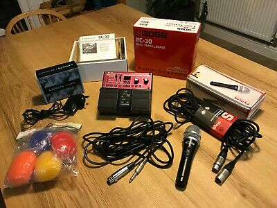 Boss RC-30 Dual Track Looper Station (+PSU +Microphone) - IMMACULATE CONDITION • 50£