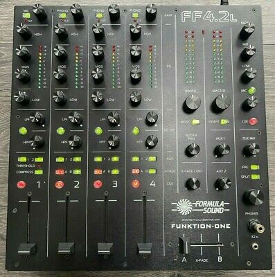 Funktion One Formula Sound FF4.2 L Rotary Mixer  • 1,899£