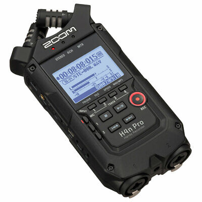 Zoom H4n Pro Black Mobile Phone Recorder • 243.72£