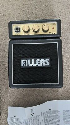 Marshall MS-2 Killers Branded RARE LIMITED EDITION Great Condition Hardly Played • 85£