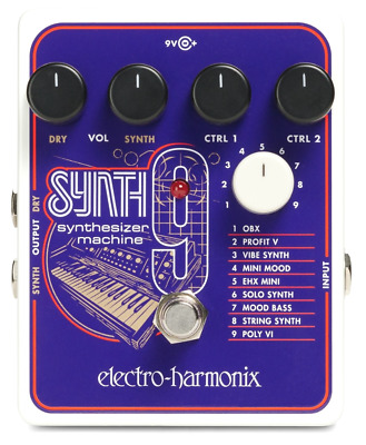 Electro-Harmonix SYNTH 9 Synthesizer Machine Effects Foot Pedal • 192£