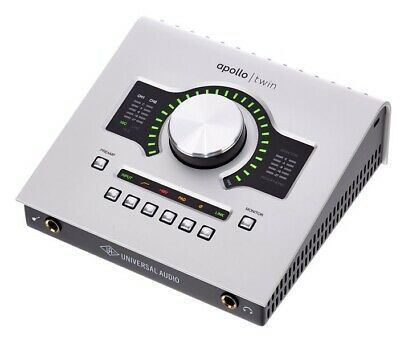 Universal Audio Scheda Audio Apollo Twin Duo Usb • 760.09£