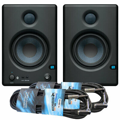 Presonus Eris E4.5 BT Studio-Aktivmonitor Boxes With Bluetooth + 2x Jack Cable • 224.73£