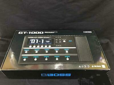 Boss GT1000 GT-1000 Guitar Processor Effecter Tested Working Used Ex • 925.33£