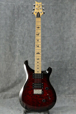 New Paul Reed Smith PRS SE Custom 24 Roasted Maple Limited Fire Red Burst Guitar • 579.35£