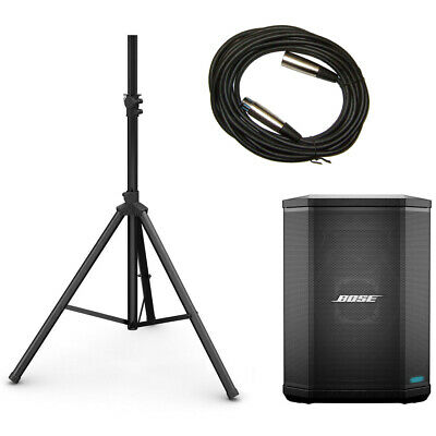 Bose S1 Pro Multi-Position PA System With Speaker Stand & Mic Cable S1Pro System • 440.58£