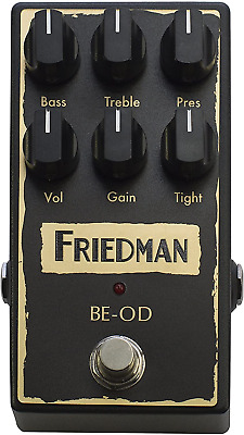 Friedman Amplification BE-OD Overdrive Guitar Effects Pedal • 234.35£