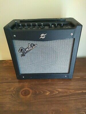 Fender Mustang I (V.2) Guitar Amplifier With 8  Speaker With Cover • 73.10£
