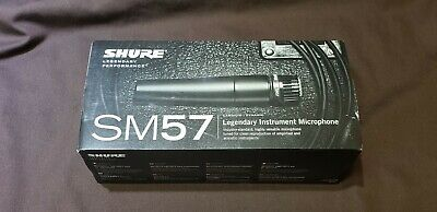 Shure SM57-LC Dynamic Wired Professional Microphone • 71.68£