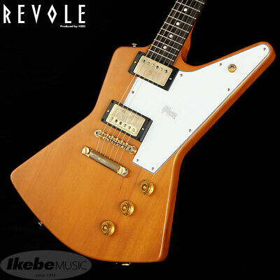 Gibson Custom Shop 1958 Mahogany Explorer Elbow Cut VOS Heavy Antique Natural • 3,941.36£
