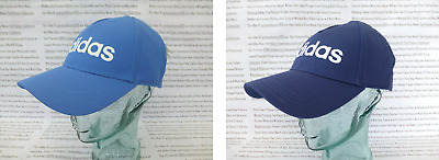 ADIDAS Daily Baseball Cap Mens TruBlue Or Tecind Branded Hat One-Size Caps BNWT • 12.99£