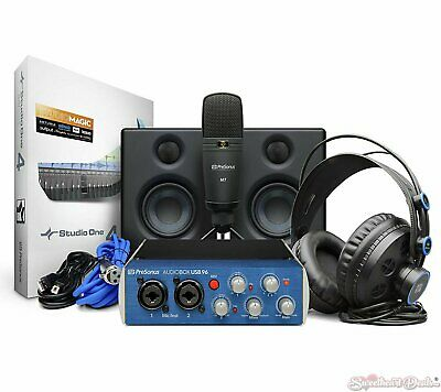 PreSonus Audiobox Studio Ultimate Deluxe Hardware/Software Recording Collection • 246.01£