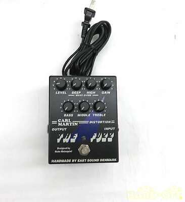 CARL MARTIN Distortion System Effector / THE FUZZ / 99108000098 #21A1 VERYGOOD • 198.98£