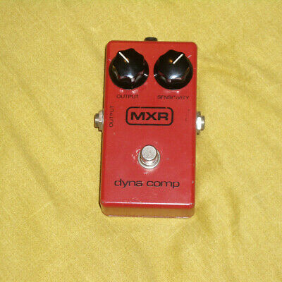MXR Dyna Comp Compressor Compression Sustain Effects Pedal Boxed Circa 1977 • 130£
